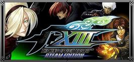 Banner artwork for THE KING OF FIGHTERS XIII STEAM EDITION.