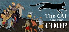 Banner artwork for The Cat and the Coup.