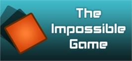 Banner artwork for The Impossible Game.