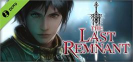 Banner artwork for The Last Remnant Demo.