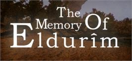 Banner artwork for The Memory of Eldurim.
