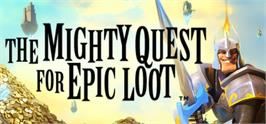 Banner artwork for The Mighty Quest For Epic Loot.