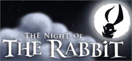 Banner artwork for The Night of the Rabbit.