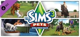 Banner artwork for The Sims 3 Pets.