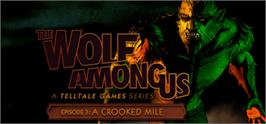 Banner artwork for The Wolf Among Us.