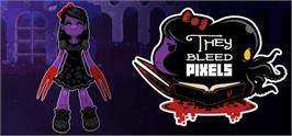 Banner artwork for They Bleed Pixels.