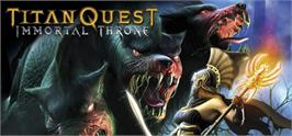 Banner artwork for Titan Quest - Immortal Throne.