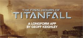 Banner artwork for Titanfall - The Final Hours.
