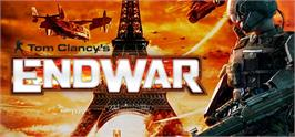 Banner artwork for Tom Clancy's EndWar.
