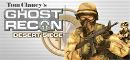 Banner artwork for Tom Clancy's Ghost Recon® Desert Siege.