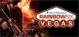 Banner artwork for Tom Clancy's Rainbow Six® Vegas.