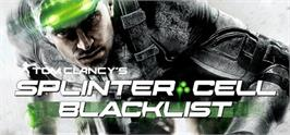 Banner artwork for Tom Clancys Splinter Cell Blacklist.