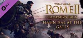 Banner artwork for Total War: ROME II  Hannibal at the Gates.