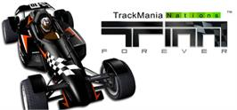 Banner artwork for TrackMania Nations Forever.