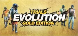 Banner artwork for Trials Evolution: Gold Edition.