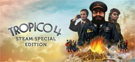 Banner artwork for Tropico 4: Steam Special Edition.