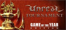 Banner artwork for Unreal Tournament: Game of the Year Edition.