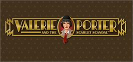 Banner artwork for Valerie Porter and the Scarlet Scandal.