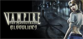 Banner artwork for Vampire: The Masquerade - Bloodlines.