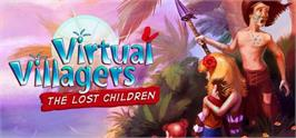 Banner artwork for Virtual Villagers: The Lost Children.