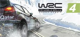 Banner artwork for WRC 4 FIA World Rally Championship.