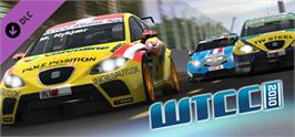 Banner artwork for WTCC 2010  Expansion Pack for RACE 07.
