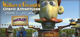 Banner artwork for Wallace & Gromits Grand Adventures, Episode 3: Muzzled!.