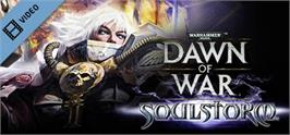 Banner artwork for Warhammer® 40,000: Dawn of War® - Soulstorm.