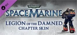 Banner artwork for Warhammer 40,000: Space Marine - Legion of the Damned Armour Set.