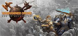 Banner artwork for Warhammer Online®: Age of Reckoning.