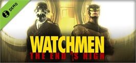 Banner artwork for Watchmen: The End is Nigh Demo.