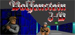Banner artwork for Wolfenstein 3D.