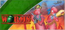Banner artwork for Worms.