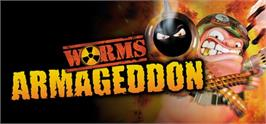 Banner artwork for Worms Armageddon.