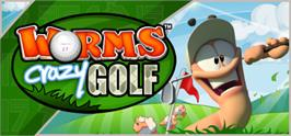 Banner artwork for Worms Crazy Golf.