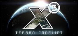 Banner artwork for X3: Terran Conflict.