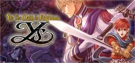 Banner artwork for Ys: The Oath in Felghana.