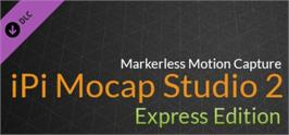 Banner artwork for iPi Mocap Studio 2 Express.