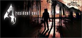 Banner artwork for resident evil 4 / biohazard 4.