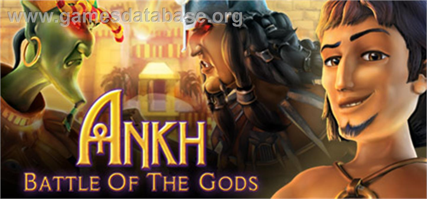 Ankh 3: Battle of the Gods - Valve Steam - Artwork - Banner