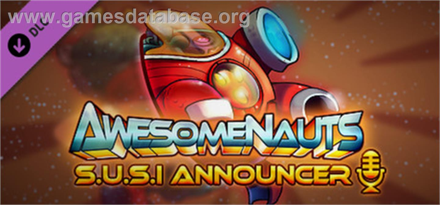 Awesomenauts - SUSI Announcer - Valve Steam - Artwork - Banner