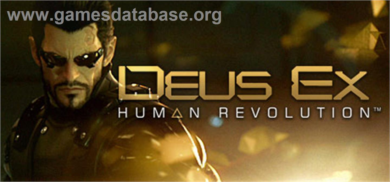 Big Game Owners (BiGOwn): Review> Deus Ex: Human Revolution
