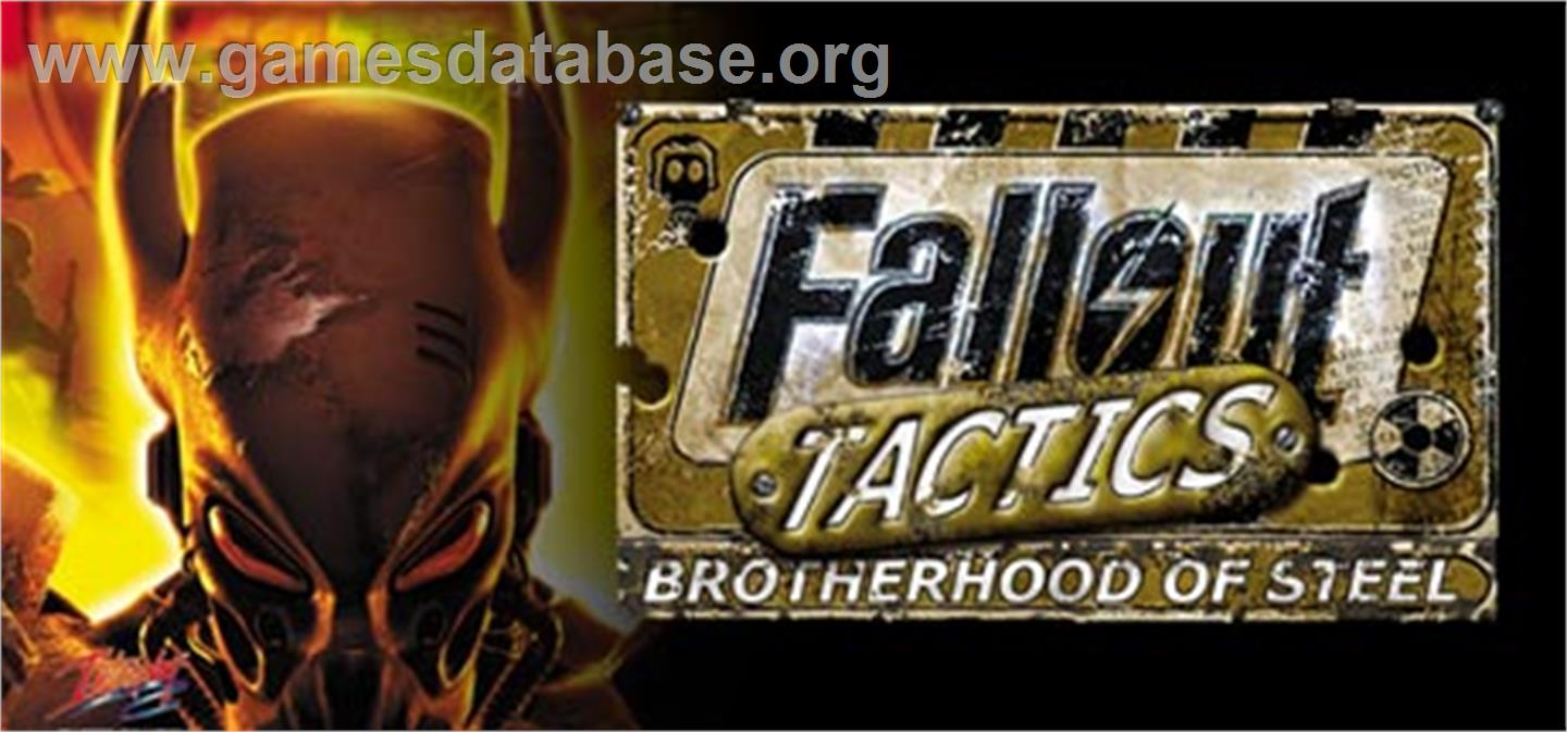 Fallout Tactics: Brotherhood of Steel - Valve Steam - Artwork - Banner