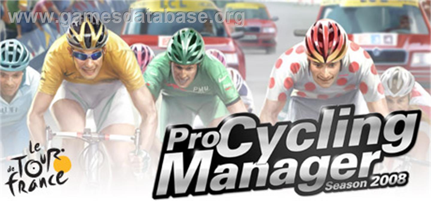 Pro Cycling Manager - Le Tour De France 2008 - Valve Steam - Artwork - Banner