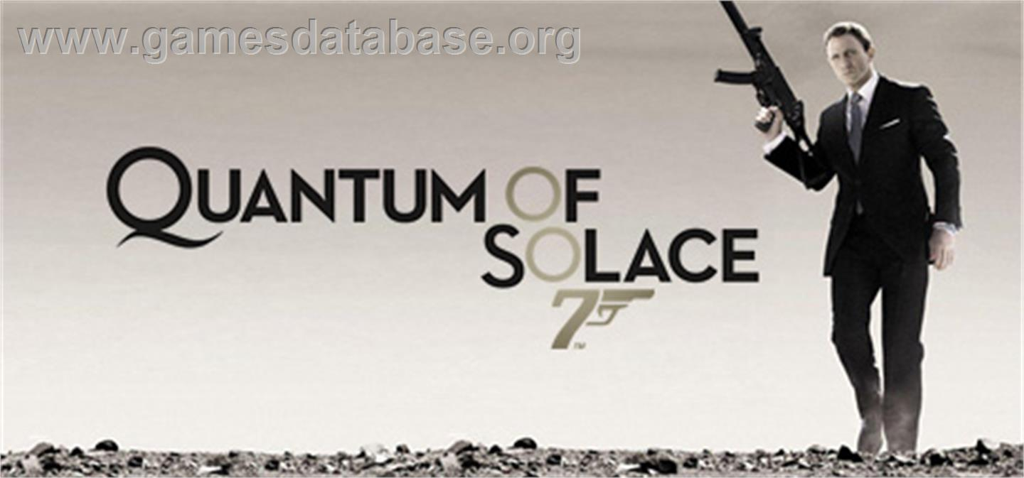 Quantum of Solace - Valve Steam - Games Database Quantum Of Solace Cover