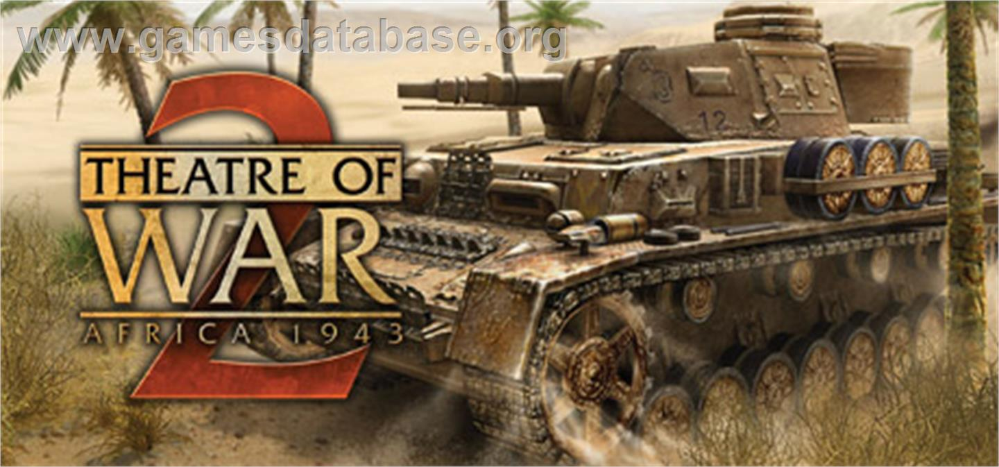 Theatre of War 2: Africa 1943 - Valve Steam - Artwork - Banner