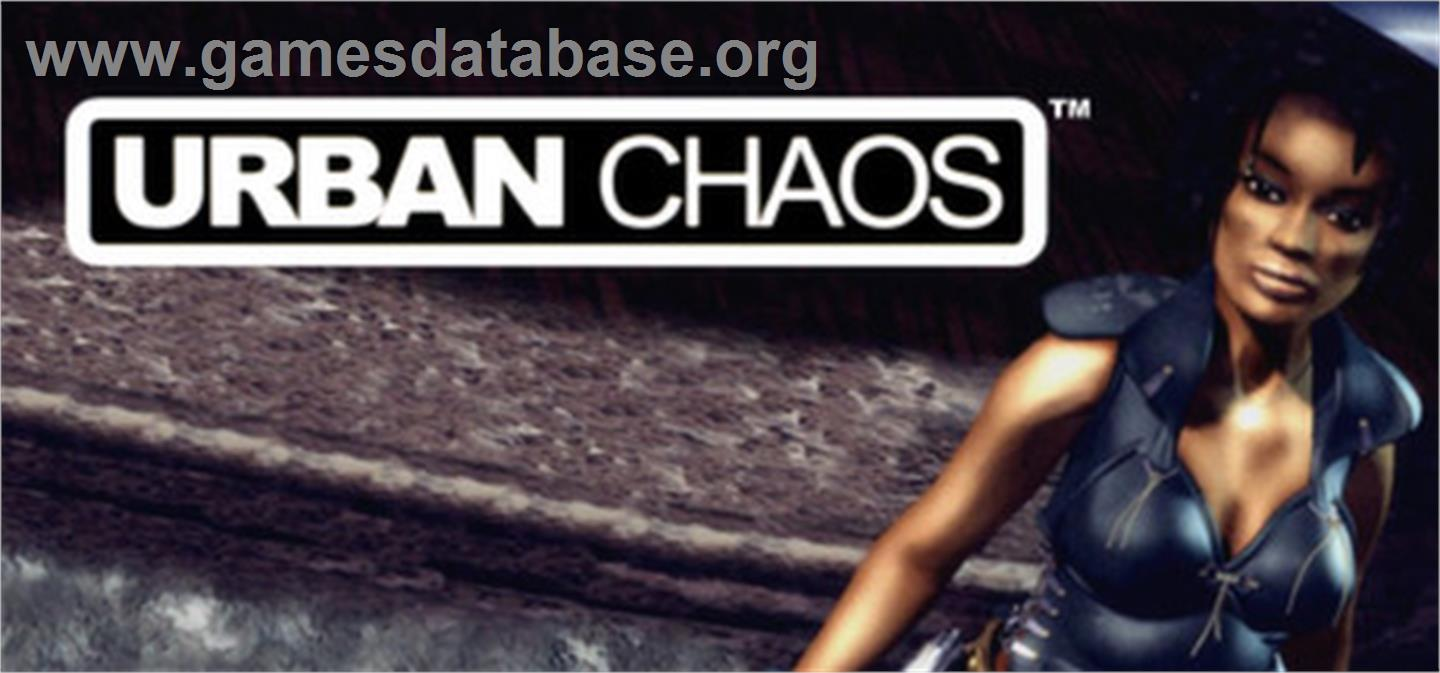 Urban Chaos - Valve Steam - Artwork - Banner