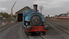 In game image of 0-4-0ST Saddle Tank Locomotive Pack RailWorks Add-on on the Valve Steam.