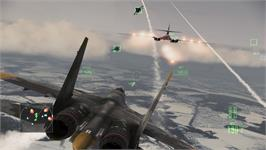 In game image of Ace Combat Assault Horizon - Enhanced Edition on the Valve Steam.