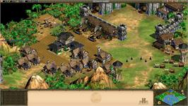 In game image of Age of Empires II HD on the Valve Steam.